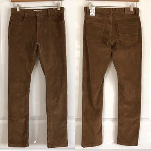 Zara Kids Boys Corduroy Brown Pants
